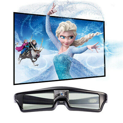 Active Shutter 3D Glasses for BenQ Optoma Sharp DLP-Link Projector ViewSonic