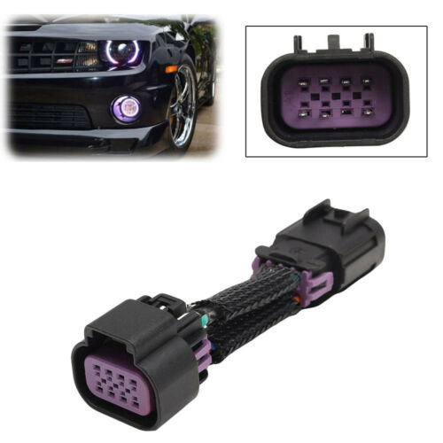 For 2010-2015 Chevy Camaro DRL Daytime Running Light Fog Light Adapter Harness