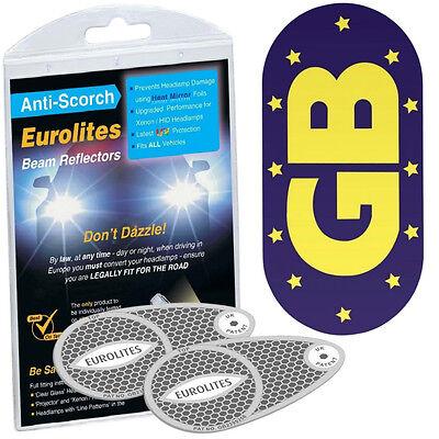 Headlamp Adaptors Beam Deflectors Headlight Convertors & GB Magnetic Euro Plates