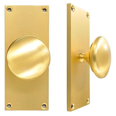 EuroBall Gold Front Door Handle
