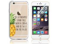 IPHONE 6 / 6S SILICONE GEL CASE WITH FREE SCREEN PROTECTOR