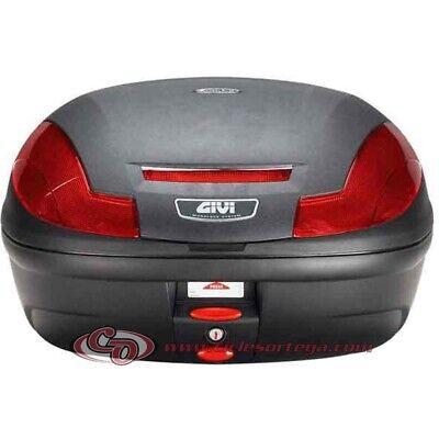 Baul Givi E470 Simply III 47 litros E470N Monolock con base universal