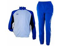 Mizuno Pro Team Tracksuit Knit Spect 60KK810-27 White/Royal/Black Brand New