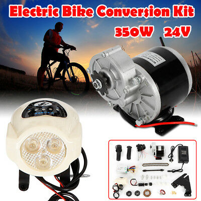 24V 350W Bicicleta Eléctrica E-Bike Motor Kit de Conversión 22