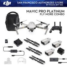 DJI Mavic Pro Fly More Combo Platinum In Stock Magic Sky USA