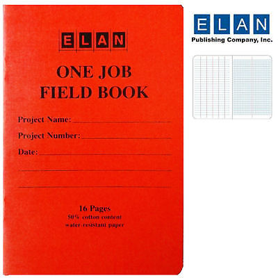 Elan One Job Field Book
