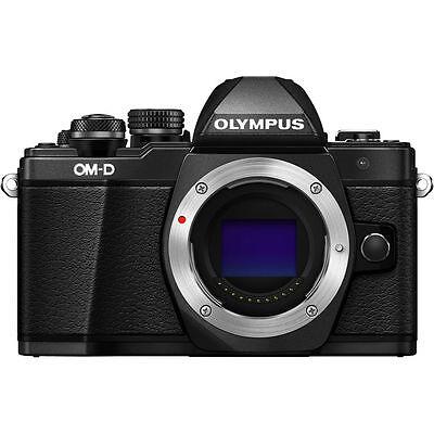 Olympus OM-D E-M10 Mark II Mirrorless Digital Camera Body (Black) Olympus Dealer