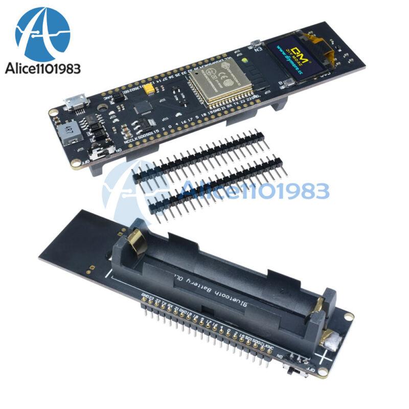 0.96 Inch Yellow&blue Oled Esp32 Wifi Bluetooth 18650 Cp2102 Development Board