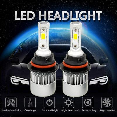 1500W 225000LM All In One LED 9007 Headlight Kit HiLo Beam 6000K White Power