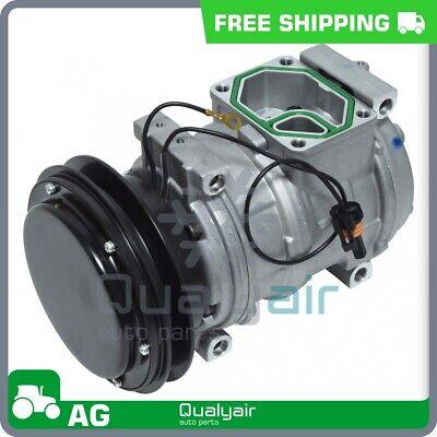 Ac Compressor Fits John Deere 3400 8570 8770 8870 8970 9500 9600..