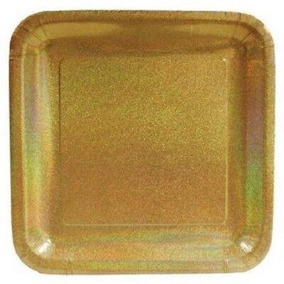 - 24 Pieces Creative Converting Glitz Gold 7