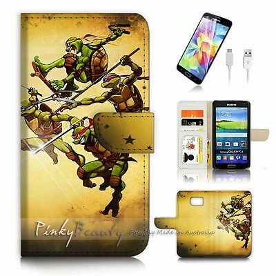 ( For Samsung Galaxy S7 ) Case Cover P3268 Ninja Turtle TMNT