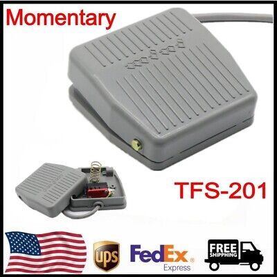 TFS-201 Momentary Contact AC 250V 10A Nonslip Surface Foot Pedal Switch US SHIP