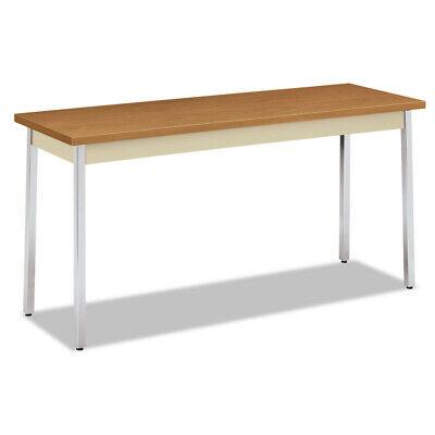 Hon Utility Table Rectangular 60w X 20d X 29h Harvestputty Utm2060clchr New