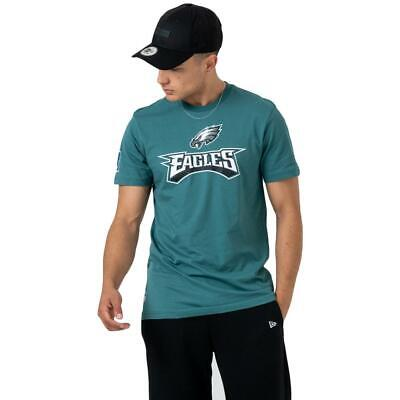 New Era Men's American Football NFL Philadelphia Eagles Fan Logo Green Tee
