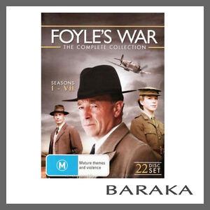 FOYLES-WAR-Foyles-Complete-Seasons-1-2-3-4-5-6-7-R4-DVD-Box-Set-Collection