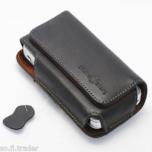 Quality Genuine Leather Belt Clip Carrying Case Holster for iPhone 4,4s