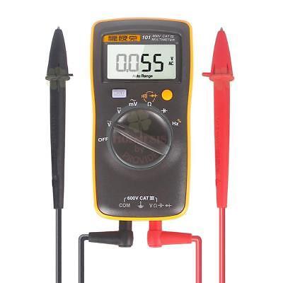 Fluke 101 Auto Range Digital Multimeter For Acdc Voltageohmcapacitance Test