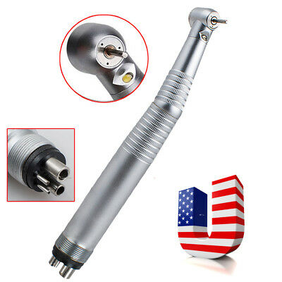 4 Hole Fit Kavo E-generator Dental Led Turbine Fiber Optic High Speed Handpiece