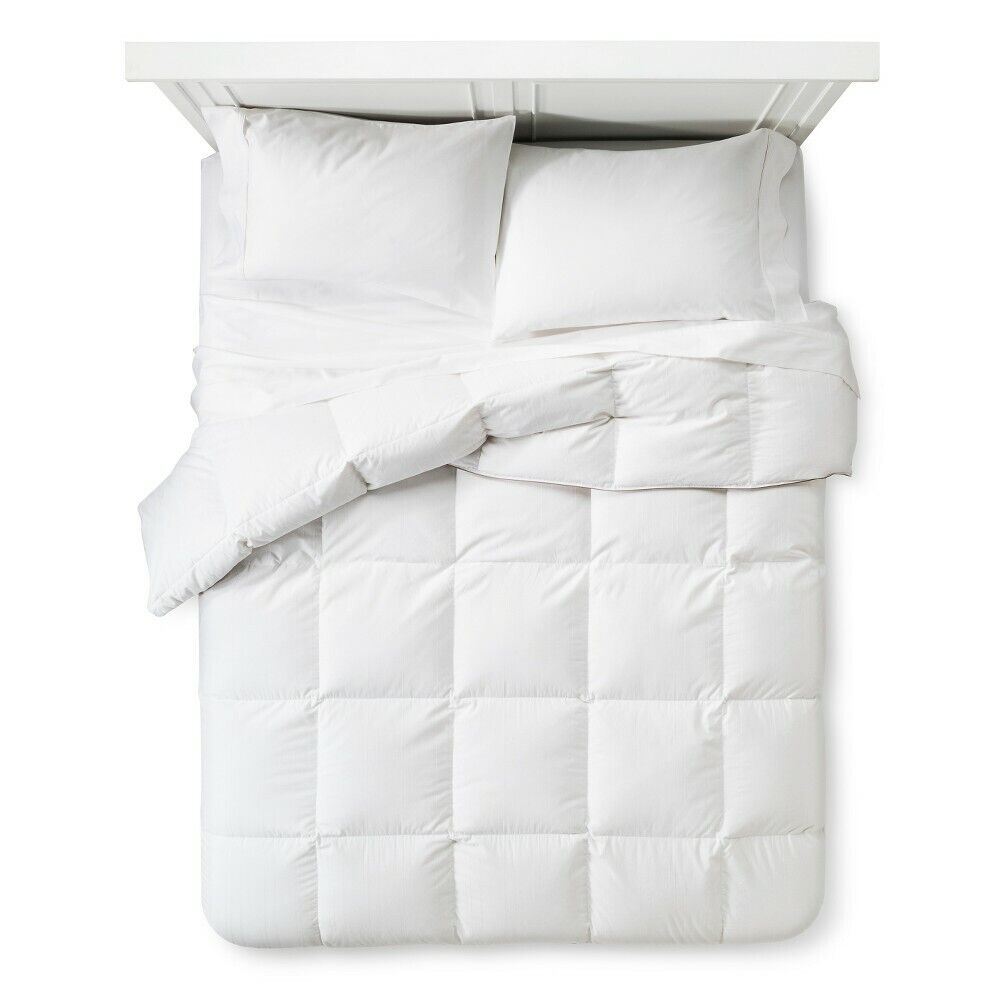 Twin Fieldcrest Warmest Goose Down Comforter White – 68″ x 90″ Bedding