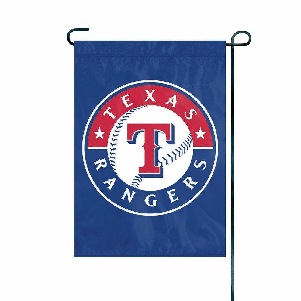 Texas Rangers Garden Flag Full Size 18X12.5 Heavyweight Nylo