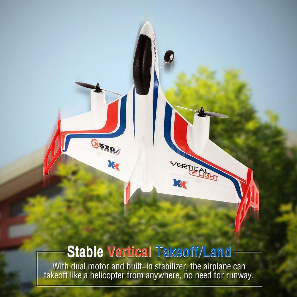 XK X520 3D/6G Vertical Take-off Land Delta Wing brushless RC Aerobatic Airplane