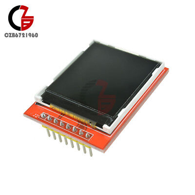 2pcs Red Color 1.44 Inch Tft 128128 Spi Lcd Module St7735 Repl. Nokia 5110 Lcd