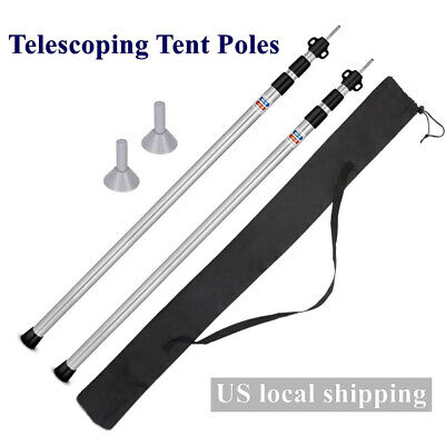 Universal 3cm Steel Ring /& Pin Camping Tent Pole Awning Repair