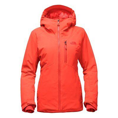 The North Face Women's Lostrail GoreTex Jacket Medium Nasturtium Orange 2017 NEW
