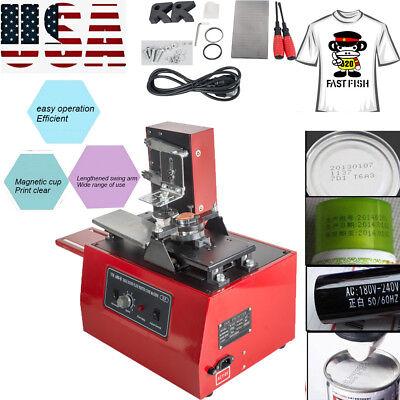 Electric Pad Printer Printing Machine T-shirt Ink Print Pvc Mug Ball Pen Device
