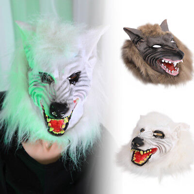 Funn Cool Wolf Head Mask For Halloween and Cosplay Costume Party Dance Party New - Cool Costume For Halloween Party