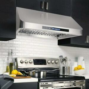 Cosmo COS-QS75 Pro-Style Under Cabinet Range Hood NEW