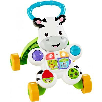 Fisher-Price Learn With Me Zebra Baby Walker Toddler  NEW