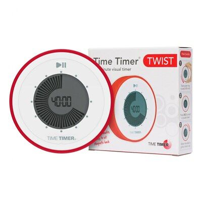 Time Timer TWIST 90 Minute Visual Digital Timer; Magnetic an