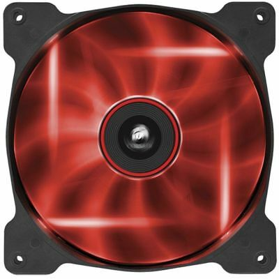 Red Led Fan (Corsair 140mm LED Red Quiet Edition High Airflow)