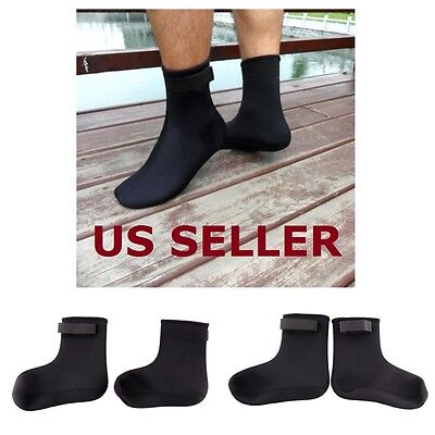 Water sports Swimming Scuba Diving Surfing Neoprene 3mm Socks Snorkeling Boots