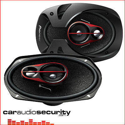 "Pioneer TS-R6950s - 6""x9"" 3-way Coaxial Car Shelf Speakers (300W)"