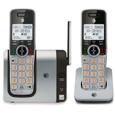AT&T CL81214 2-Handset Cordless Caller ID/Call Waiting Phone with Big Buttons
