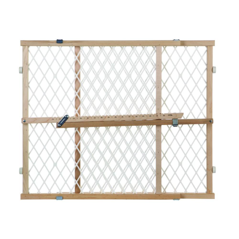 Diamond Mesh Gate Child Safety Pet Door Sturdy Construction