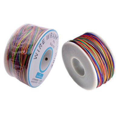 280m 30 Awg Wrapping Cable B-30-1000 8 Wire Breadboard Jumper Colored Insulation