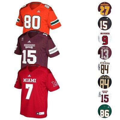 Adidas Replica Football Jersey - NCAA Adidas Men's Official Player Name & Number Football Replica Jersey