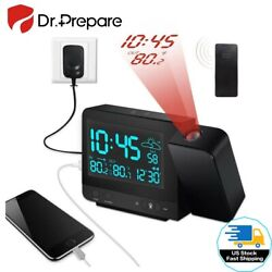 Open Box Digital Projection Alarm Clock Ceiling Clock Multi-function Clock