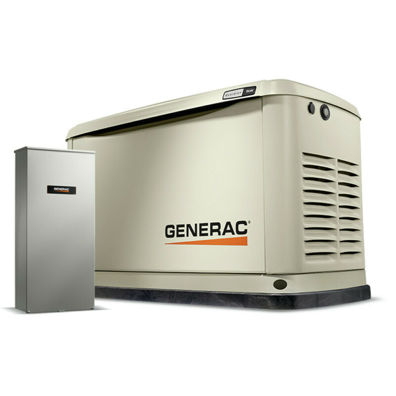 Generac 7175 Guardian 13kW Generator w/ Whole House Switch (WiFi-Enabled) New