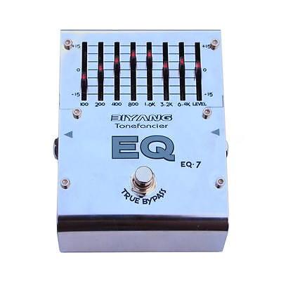 Biyang EQ7 Equaliser Graphic EQ Guitar Effects Pedal