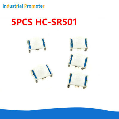 5PCS HC-SR501 Infrared PIR Motion Sensor Module for Arduino Raspberry pi