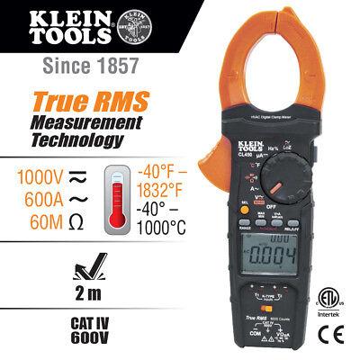 Klein Tools Hvac Clamp Meter Wdifferential Temperature