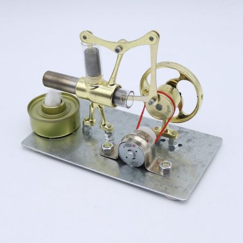Купить Mini Hot Air Stirling Engine Model Generator Motor Steam Power Educational Toy