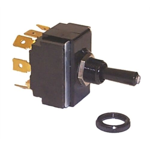 Sierra TG40320 Tip Lit Toggle Switch On/Off/On Terminals 5 Blade SPDT MD