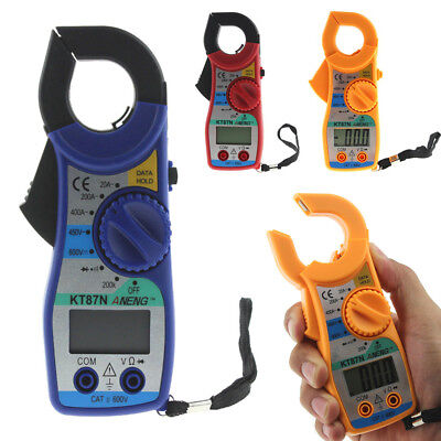 Digital LCD Multimeter Amper Clamp Meter Current AC/DC Current Voltage Tester Digital Clamp Multimeter Tester