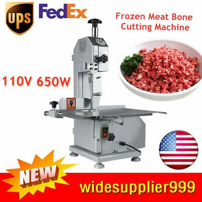 Us Electric Bone Saw Machine Frozen Meat Frozen Fish Steak Cutting Machine 110v